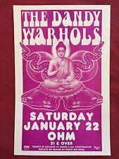 THE DANDY WARHOLS Original Concert Poster Gig Flyer Portland 2005
