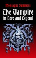 Vampire in Lore and Legend Dover Books on Anthropology and Folklore