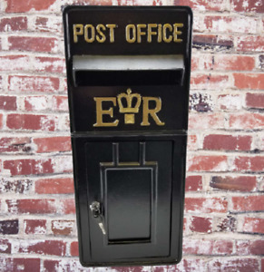 Vintage letter Mailbox Royal Mail Post Box Replica Letterbox Antique Wall Mount