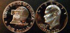 1976 S Eisenhower Dollar Type 1 Gem Cameo Clad Proof Coin Ike Set US Mint