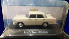 SIAM DI TELLA 1500 (1960) - Unforgettable Cars 1:43 Diecast #17 SALVAT ARGENTINA