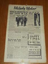 MELODY MAKER 1950 #881 JUN 24 JAZZ SWING GERALDO LENA HORNE BRADBURY FELIX KING