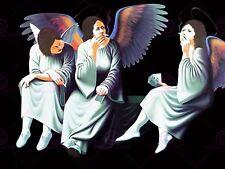 MUSIC ALBUM COVER BLACK SABBATH HEAVEN HELL ANGELS POSTER ART PRINT LV10208