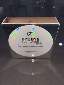 IT COSMETICS BYE BYE FOUNDATION POWDER ~ CHOOSE SHADE~ SKIN LOVING POWDER