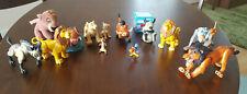 Lion King Disney Action Figure Lot 14 Figures PVC Plush Scar Timone Pumba