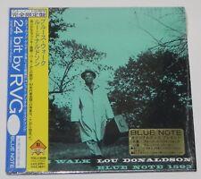 LOU DONALDSON / Blues Walk JAPAN Mini LP BLUE NOTE CD w/OBI TOCJ-9048