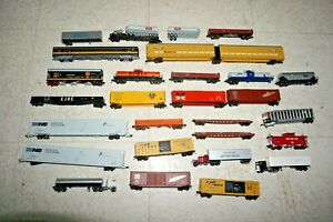 Huge N Scale Car / Rolling Stock Lot Kato Atlas Con-cor and More