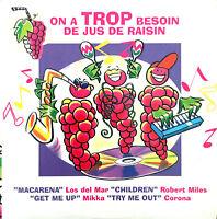 Compilation CD On A Trop Besoin de Jus de Raisin - Promo - France (EX/EX+)