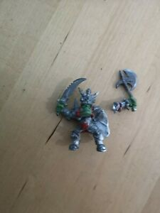 Warhammer Orc Azhag The Slaughterer Rider Only Metal