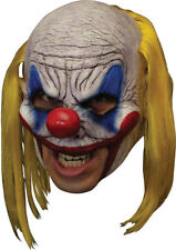 Morris Costumes New Chinless Deluxe Full Over Head Clowns Mask One Size. TB27534