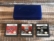 Lot of 3 Nintendo DS Video Games Guitar Hero / Cars / Jake Power Handyman