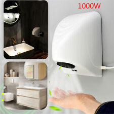 220V 1000W Hand Dryer Wall Mounted Fast Electric Automatic Warm Air Drier Toilet