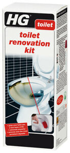 HG Toilet Renovation Kit 500ml Extremely Powerful Removes Persistent Stains