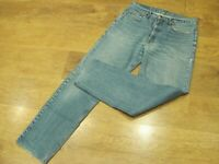 "Levi's 615, W34"", L32"" Blue, Relaxed Tapered Denim Jeans, Rise 11"", Hem 16"" vgc"