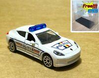 Majorette Porsche Panamera Politia Romania SOS 1/64 no Package Free Display Box