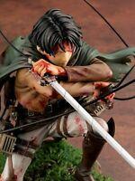 Attack on Titan J Levi Artfx Anime Action Figure Renewal Package Ver PVC Mikasa