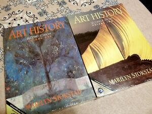 NEW SEALED Art History edition volume one and two by Marilyn Stokstad text book