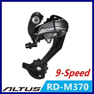 Shimano Altus M370 RD-M370 Rear Derailleur 9S MTB Bike Rear Derailleur bike part