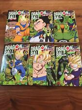 "Japan Akira Toriyama manga: Dragon Ball Full color ""Cell"" vol.1-6 Complete set"