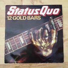 Status Quo - 12 Gold Bars - QUO TV 1 (Vinyl LP) EX/VG