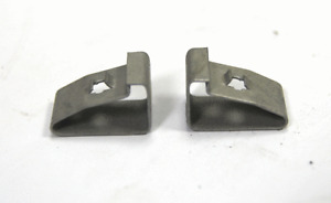 2006-2020 GM Front Bumper Metal Clip 2pcs New OEM 11562364