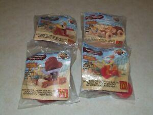 McDonalds 1994 The Flintstones Stationery Series - Set of 4 - New