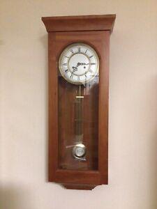 Franz Hermle Regulator Striking Wall Clock