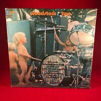 VARIOUS Woodstock Two 1971 Double vinyl LP EXCELLENT CONDITION HENDRIX Joan Baez