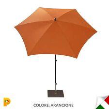 Maffei ombrellone palo centrale Kronos Art.135-6 arancio poliestere d. 250 cm