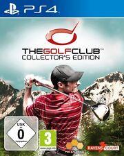 PlayStation 4 the golf club Collectors Edition como nuevo