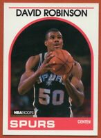 1989-90 Hoops #310 David Robinson ROOKIE RC PACK FRESH MINT San Antonio Spurs