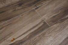 Hickory Wood Walnut Timber Look Porcelain Floor & Wall Tile 200x900
