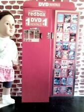 "Redbox Movie Rental Vending Machine For 18"" & American Girl Sized Dolls"