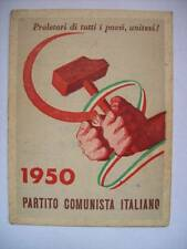 TESSERA PARTITO COMUNISTA ITALIANO 1950 (S8)