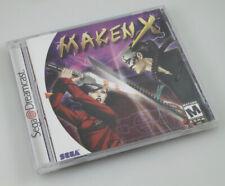 Sega Dreamcast - Maken X - Brand New Factory Sealed