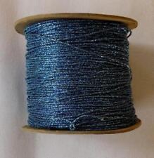 BEADETTE VINTAGE CRAFT SPOOL YARN BLUE COLOR (G88)