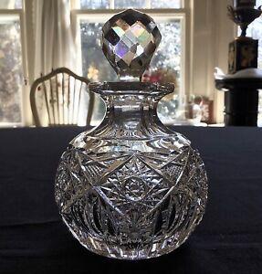 Hoare American Brilliant Hindoo Cologne Perfume Bottle c.1900
