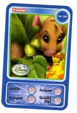 CARTE COLLECTOR DISNEY PIXAR AUCHAN 2010 NUMERO 58 FROMAGE LES FEES