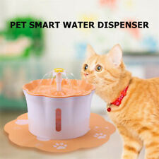 Pet Water Drinking Fountain Electric Cat Dog Automatic Water Dispenser Bowl