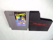 Solomon`s Key Nintendo NES Spiel nur das Modul