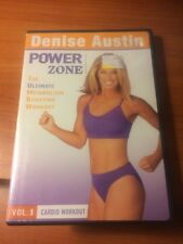Denise Austin Power Zone (DVD) The Ultimate Metabolism Boosting Workout...189