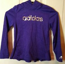 Girl's Adidas long sleeve top with hoodie By adidas size 6