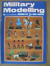 MILITARY MODELLING MAGAZINE NOVEMBER 1973 BATTLE OF THE GRANICUS - JANIZARIES