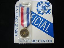 USCG AUXILIARY TRANSPORTATION 9-11 MEDAL MINI MEDAL NEW IN PACK