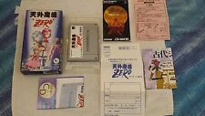 FAR EAST OF EDEN ZERO, NINTENDO SUPER FAMICOM, SFC, GIAPPONESE/JAP/IMPORT/JP
