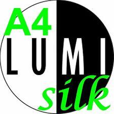 A4 140 GSM SILK 2 X 500 hojas de papel de impresora de cara-Laser-Digital-Litografía