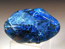 27 g Polished Blue Shattuckite, Chrysocolla, Quartz, Namibia! PSH413