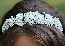 Prom,Wedding, Bridal Crystal Perl Headband