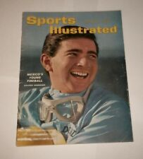 1962 NO LABEL ! Sports Illustrated RICARDO RODRIGUEZ Mexican Racing Legend