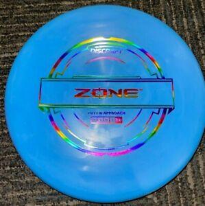 DISCRAFT PUTTER LINE ZONE DISC GOLF PUTTER @ APPROACH 173-4G BL/RAIN @ LSDISCS